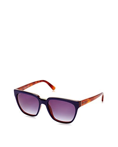 Tod's Occhiali da sole To0128 Blu/Miele
