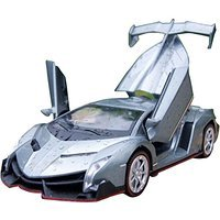 NuoYa001 Grey 1:32 Lamborghini Veneno sports car Diecast Car Model Collection Sound&Light (Lamborghini Model Car compare prices)