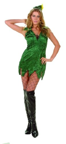 Adult Sexy Elf Costume Size Medium (6-8)