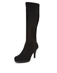 M&S Collection Platform Long Boots with Insolia®