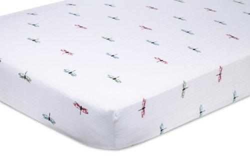 aden + anais Organic Muslin Crib Sheet, Snuggle Bug