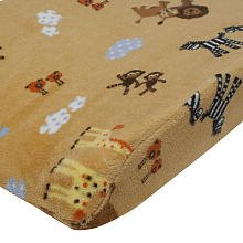 Lambs & Ivy Changing Pad Cover, S. S. Noah