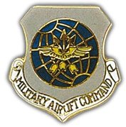 Us Air Force Airlift Command Shield Lapel Pin