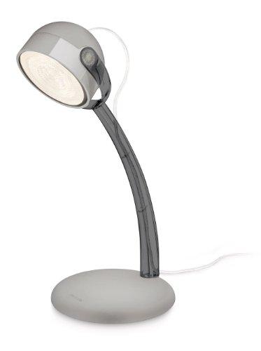 Philips-myLiving-LED-Schreibtischleuchte-Dyna-EEK-A-grau