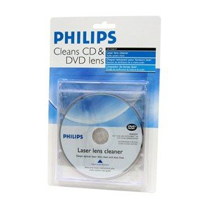 cd dvd laser lens cleaner by philips electronics. Black Bedroom Furniture Sets. Home Design Ideas