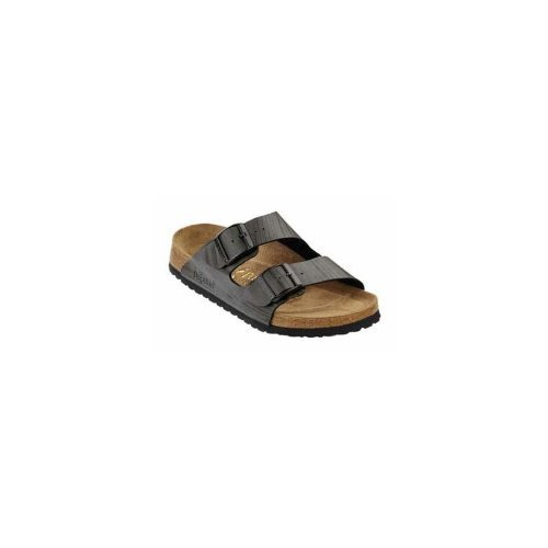 Image of Papillio Arizona Womens Sandals Soft Footbed Birko-Flor, Tree Trunk Black, With A Narrow Insole (B009AID0OQ)