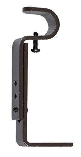 Urbanest Curtain Rod Bracket, Adjustable, Fits 3/4