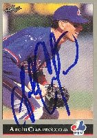 Archi Cianfrocco Montreal Expos 1992 Leaf Autographed Hand Signed Trading Card. by Hall+of+Fame+Memorabilia