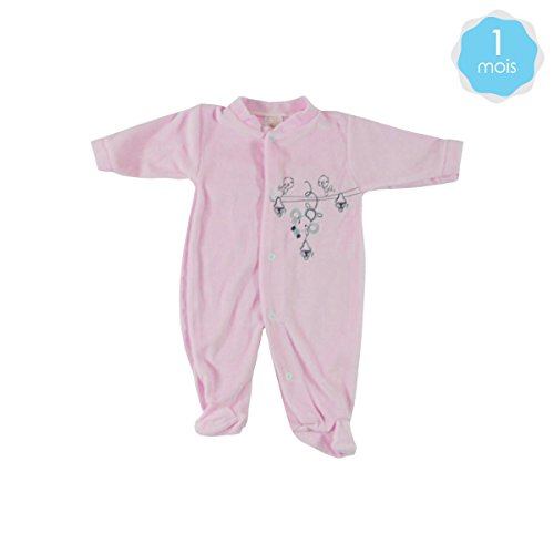 bambino-tutina-rosa-1-mese-modello-mouse