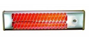 1500w chauffage electrique infrarouge radiateur radiant for Chauffage infrarouge exterieur mural