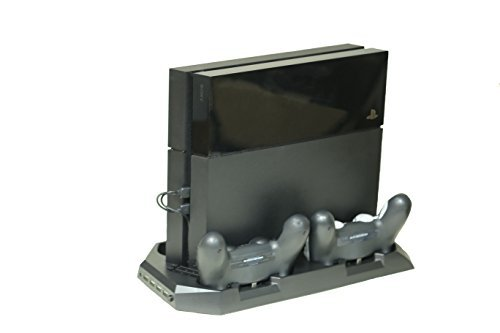 PassioneCollections@ 10 in 1 Super Charging Dock for PlayStation 4 Console and Controllers