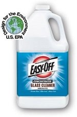 Professional Easy Off Concentrated Glass Cleaners - 4 Gal.