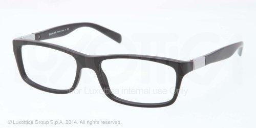 pradaPrada PR02OV Eyeglasses-1BO/1O1 Matte Black-53mm