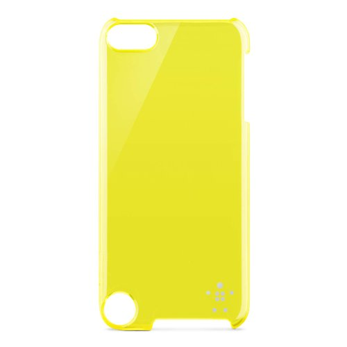 Belkin Shield Sheer Case for Apple iPod Touch 5th Generation (Yellow)