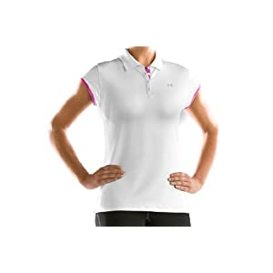Women's UA Edge Capsleeve Polo Tops by Under Armour