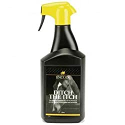Lincoln Ditch The Itch - 1 litre - an effective midge repellent for sweet itch susceptible horses by William Hunter Equestrian