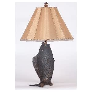 Fish Table Lamps on Com  Chelsea House Bronzed Metal Fish Table Lamp  Home Improvement