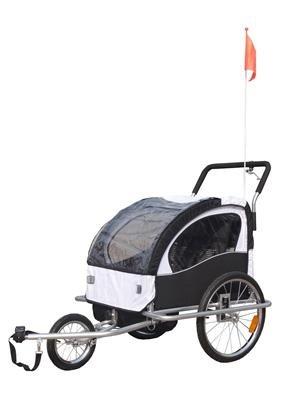 billig 2 in 1 jogger fahrradanh nger kinderwagen kinderanh nger fahrrad anh nger g nstig shoppen. Black Bedroom Furniture Sets. Home Design Ideas