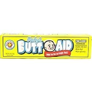 Baby's Butt Aid (1 Tube of 2 oz. 16% Zinc Oxide Diaper Rash Ointment)