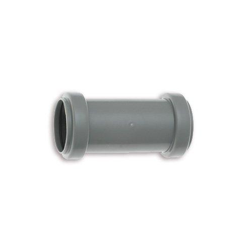 HT - Überschiebmuffe NW 40 Länge 103 mm / HT-Muffe / HTU Muffe / HT-Rohre / HT-Verbindungsstück /