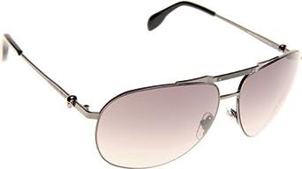 Sunglasses Alexander McQueen 4210/S 0KJ1 Dark Ruthenium