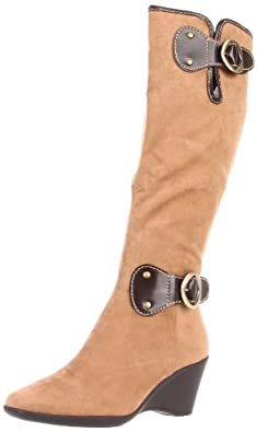 Aerosoles Women's Wonderling Knee-High Boot,Tan Combo,5 M US