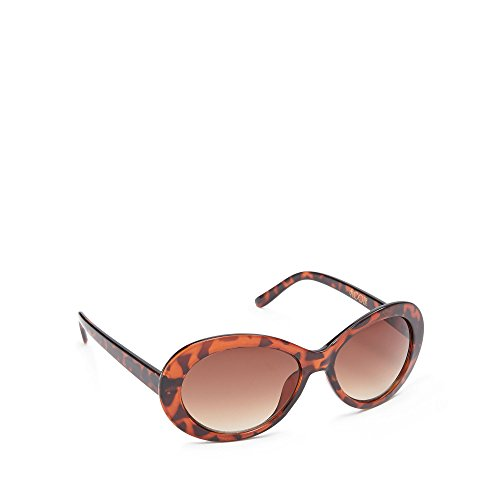 floozie-by-frost-french-womens-light-brown-oval-sunglasses