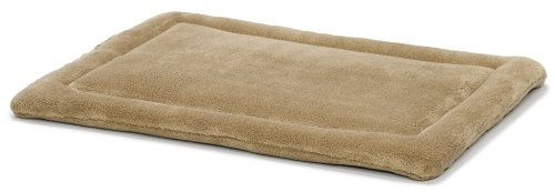 MidWest Quiet Time Pet Bed Deluxe Micro Terry, Taupe  23″ x 18″