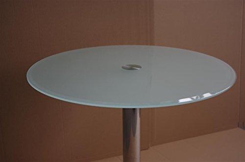 Küchentisch Rund Glas ~ esstisch satiniertes glas u2013 com forafrica