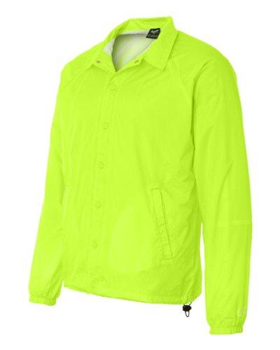 Rawlings RP9718 Coaches Jacket - Safety Green, Medium