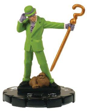 DC Heroclix Arkham Asylum The Riddler - 1