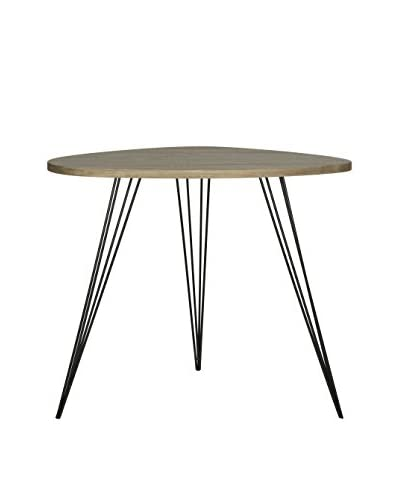 Safavieh Wynton End Table, Oak/Black