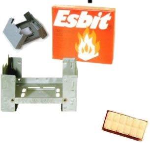 Esbit(エスビット) ポケットストーブミリタリー(固形燃料14g×6個付) ES21920000