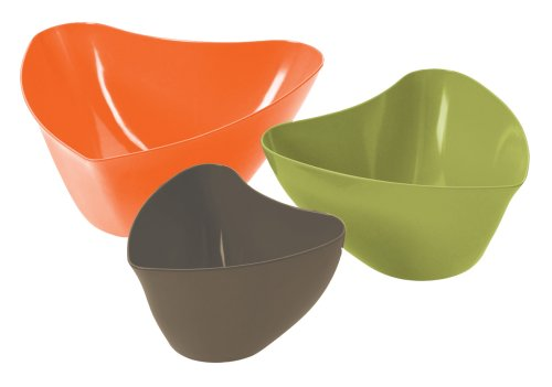 Buy Rachael Ray Groovy Mums Hipster Serving Bowl, Set of 3