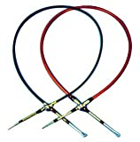 B&M 80604 Performance Shifter Cable, 4 Feet Long With Eyelet On One End