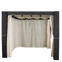 Gartenmöbel Pavillon – Pergola Heaven II aus Aluminium – Polyrattan bestellen