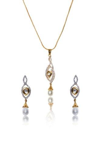 sempre-london-halskette-mit-anhanger-18-k-gold-zwei-ton-vergoldet-perlen-delight-designer-ohrringe-o