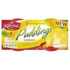 Mr Kipling Sponge Puddings Lemon 2 X 85G
