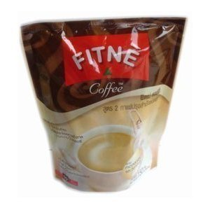 Fitne Instant Coffee Mixed Collagen With Vitamin C 15G. Pack Of 10Sachets