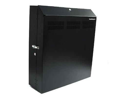 Startech 4U 19 inch Secure Horizontal Wall Mountable Server Rack Includes 2 Fans