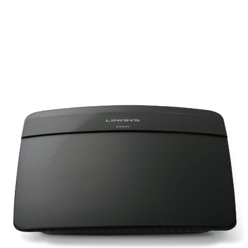 Linksys N300 Wi-Fi Wireless Router with Linksys Connect Including Parental Controls & Advanced Settings (E1200)