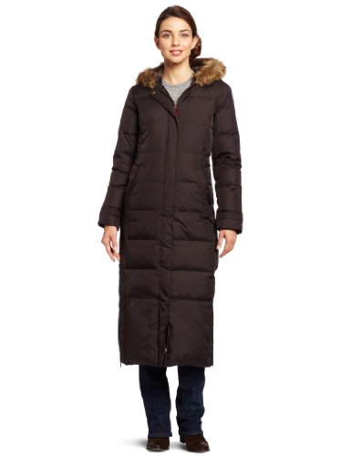 Womens down filled coats