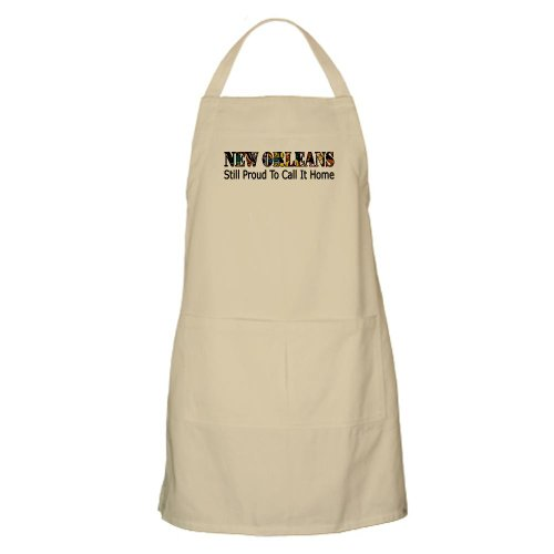 Cafepress New Orleans: Still Proud To Call It Home BBQ Apron - Standard