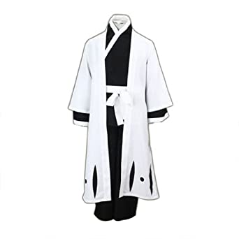 Bleach Cosplay Costumes Aizen Sousuke 4th Ver Kid Large