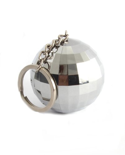 Thumbs Up Uk Glitter Ball Speaker - Retail Packaging - Silver