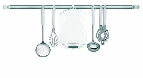 Brabantia 480003 Balance de Cuisine Digitale Ovale Blanc
