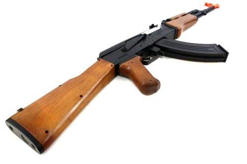 Soft Air Kalashnikov SU AEG Electric Soft Air Gun, Brown Black