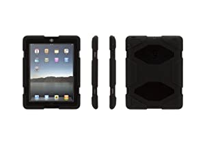 Griffin GB35108 Survivor Extreme-duty Military case for the new iPad (4th Generation), iPad 3 and iPad 2, Black