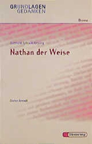 Arendt gotthold ephraim lessing nathan der weise for Raumgestaltung nathan der weise
