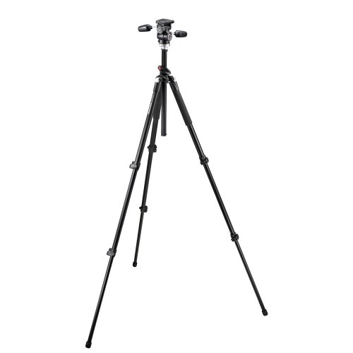 Manfrotto Pro 055XPROB Tripod Outfit with 804RC2 Pan Tilt Head (Black)